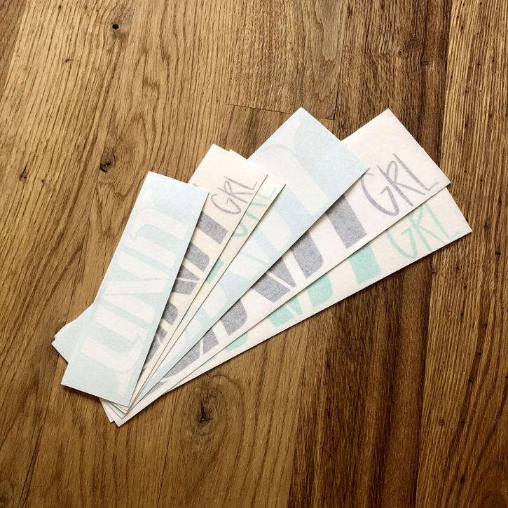UNIT - GRL Sticker Package